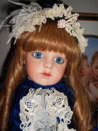 *** SALE PENDING **French Bebe Bru 13 Artist Antique Reproduction Doll