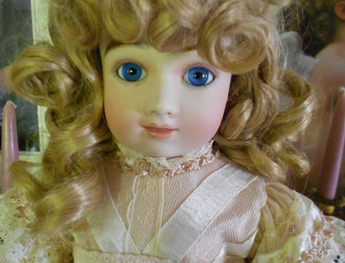 *** SOLD ** Reproduction A9T Thuillier LE Doll by Mary Benner