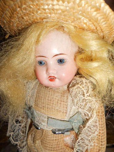 A/O Bleuette Size Antique Recknagel Doll 1907 DEP
