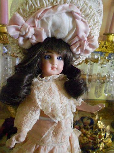Small Sonneberg Belton Antique Bebe Doll