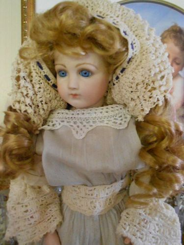 ** SALE PENDING *** Antique Reproduction Portrait Jumeau Doll Lady