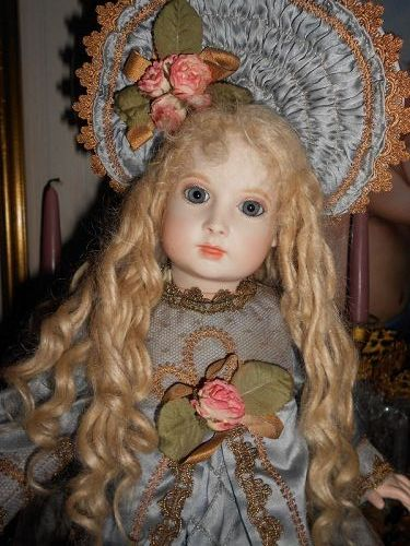 ** SOLD *** Artist Halopeau H 3 French Bisque Doll