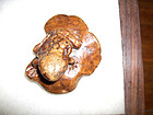 China Antique  ugly Frog  Toggle