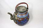 China Yixing Teapot handle republican 20th