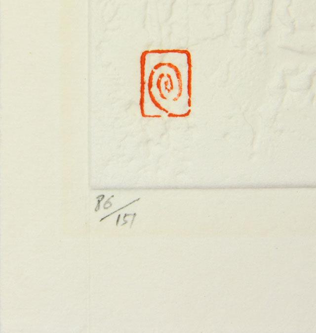 japan haku maki  modern print Poem 71-54 (ai)