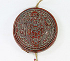 china old lacquer round box