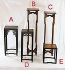 china old display stands