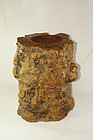 china old scroll pot mid Qing