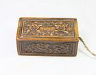 china old small huangyanmu box republican