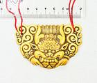 "china ""bone""  pendant 19th century stunning dragon"