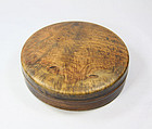 China Old ink box burl