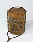 china boxwood tobacco box old