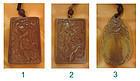 china ivory 3 plaques  qing