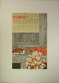 japan Tanaka Ryohei  Print Master persimmons