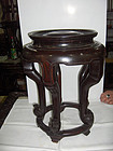 china old rosewood stool