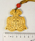 china old ivory pendant