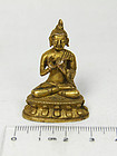 china old gilt buddha
