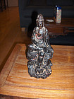 china  old zitan guanyin