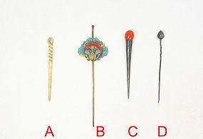 china old hair pins