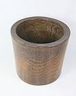 China Old bambo brushpot