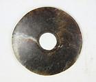 china  old jade  bi  disc