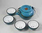 china Yixing teapot  republican cups too