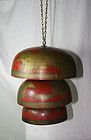 china old  temple bells bronze