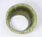 china    old  jade  bracelet