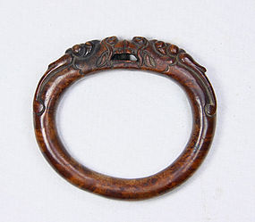 china old wooden bracwelet