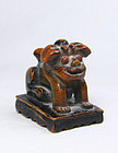 china    old toggle   lion