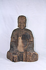 china  old  buiddha statu              e