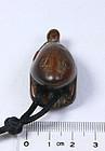 china  old wood toggle  fat frog