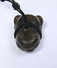 china old banboo frog toggle