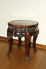 china   barrel stool  rosewood  2/2