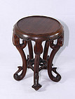 china  old rosewood  stand   f