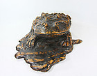 china Old root frog  huge