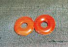 China agate pin two circles