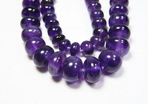 chinna amethyst necklace