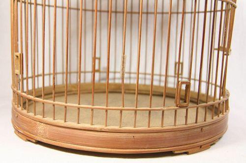china old bird cage gamboo