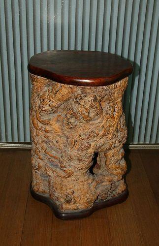 china old root stool