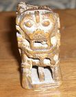China old wood toggle Lion