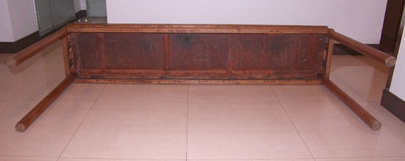 China old walnut altar table large