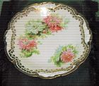 French early 20th century  Limoges porcelain plate