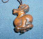 China old wooden zodiac toggle - dragon