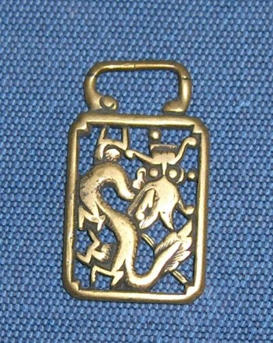 Chinese bronze pendant