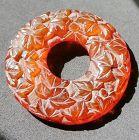China old amber circle pendant �形���饰