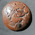 China old wooden button/pendant �����饰