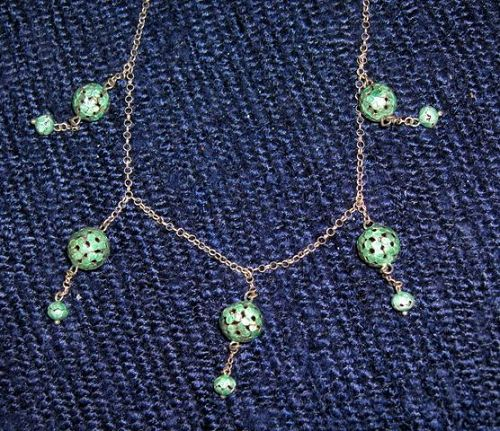 China. Old necklace.