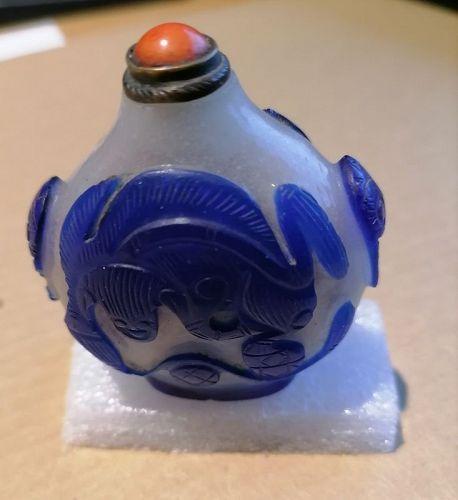 China. Snuff bottle.