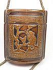 China Antique Tobacco Box Wood